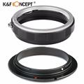 K&F CONCEPT Reverse Adapter Ring For Canon To 58mm Thread Size Lens + Macro Lens Reverse Protection Ring For Canon 500D 1200D