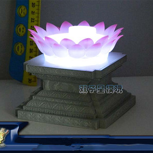 Image 3 - LC model EX Gold or Light Lotus platform for Bandai Virgo Shaka