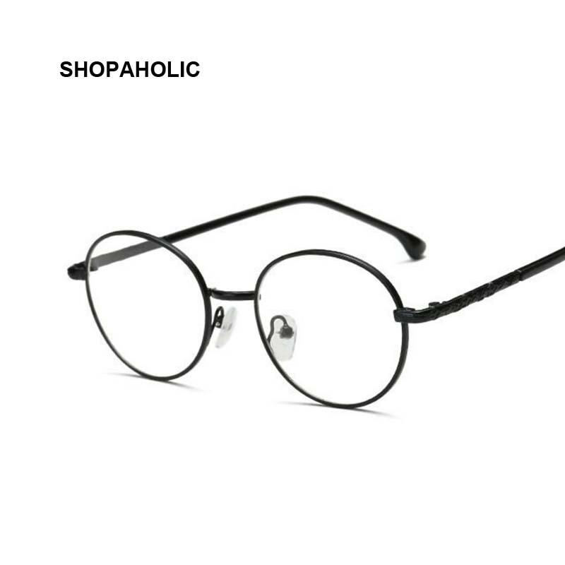 ᗕVintage Round Glasses Men Harry Potter Vintage Glasses Frame ...