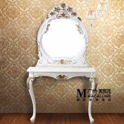 دبوس أوروبا نوع الرصيف الزجاج الحمام معلقة إطار صورة واحدة تصفيف الشعر jingyi مرآة حمام صالون حلاقة الشعر