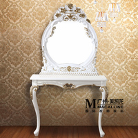Pin Europe type pier glass bathroom hanging single picture frame hairdressing jingyi bathroom mirror barber's hair salon