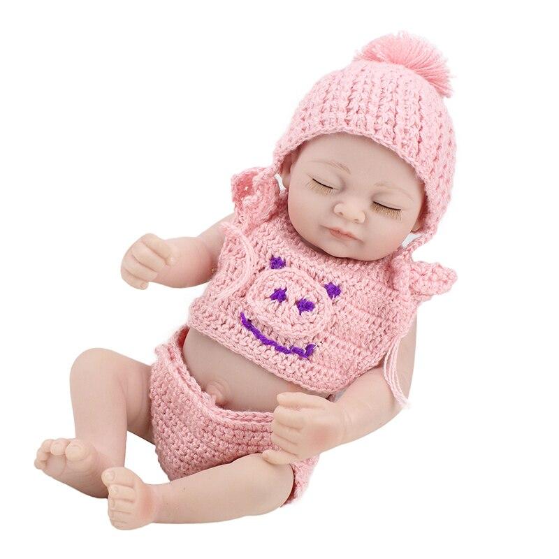 25 cm Silicone souple Reborn bébé poupées jouet bain ShowerPlay maison éducation précoce Bebe jouets Bonecas Juguetes Brinquedos pour cadeau