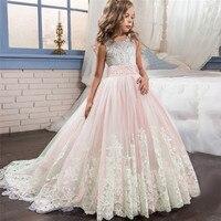 MUQGEW Lace Girl Princess Bridesmaid Pageant Tutu Tulle Gown Party Wedding Dress fashion cute roupa infantil menina #sg