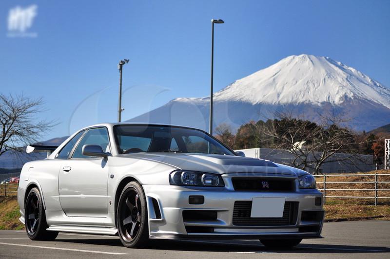 1999-2002 Nissan Skyline R34 GTR Nismo Z-TuneスタイルのフロントバンパーFRP(6)