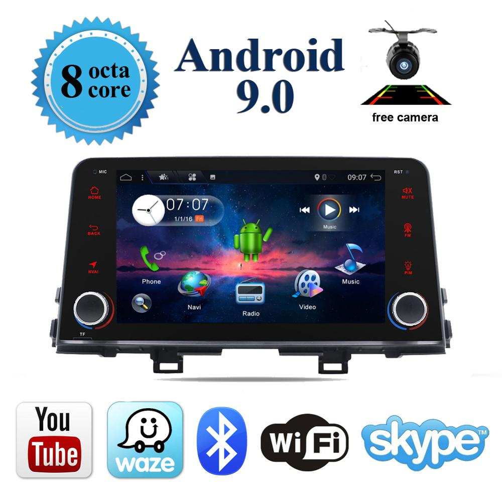 HD 1024 600 1din android 9 0 Special Car DVD for Kia Picanto 2017 2018 JA