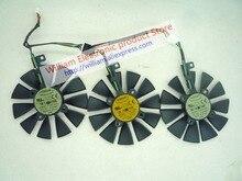 D'origine msi cartes graphiques ventilateur de refroidissement pour asus strix-rx480-o8g-gaming gtx1060 1050ti gtx1070 t129215su t129215sm