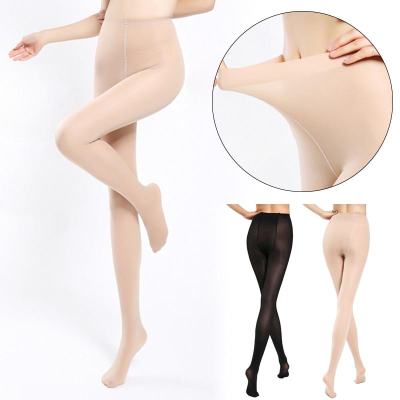 2018 Super Elastic Magical Stockings Sexy Women Tights Skinny Legs Pantyhose Prevent Hook Silk Nylons Collant Femme Medias HTB1usDAacjI8KJjSsppq6xbyVXaX