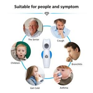 Image 4 - Ręczny nebulizator dla dziecka dziecko domu powietrza anioł nebulizator przenośna siatka parowy inhalator Atomizer medyczne gospodarstwa domowego parownik