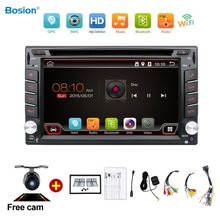 Universal 2 din Android 4.4 Car DVD player GPS+Wifi+Bluetooth+Radio+1GB CPU+DDR3+Capacitive Touch Screen+3G+car pc+audio