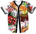Tudo Sobre o Vega Camisa Vestuário de Moda 3D impressão Hip Hop Camisa Homens HipSter Sexy adereços Jogo Encabeça Roupas Plus Size
