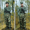 Sem pintura Kit 1/16 WW2 Alemão Waffen SS Panzer Officer Histórica DA SEGUNDA GUERRA MUNDIAL soldado Figura de Resina Kit Frete Grátis