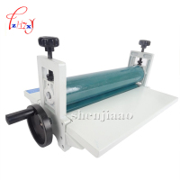 NEW 14 350mm Manual roll laminating machines Photo Vinyl Protect Rubber Cold Laminator 1pc