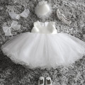 Aini Babe Baby Girl Party Wear Infant Princess Costume For Kids Baby Frocks 1st 2nd First Birthday Outfit Child Bridesmaid Dress