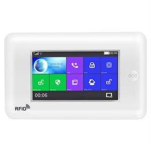 Image 4 - Yobang bezpieczeństwa wszystkich ekranów dotykowych Alexa wersja 433 MHz bezprzewodowy WIFI GSM inteligentny dom monitor bezpieczeństwa system antywłamaniowy zestawy