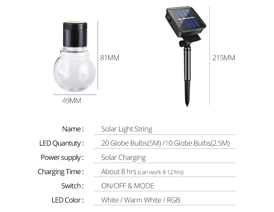 LED Solar Lawn Lamp Rechargeable Solar String Light 2.55M 1020 Bulb Waterproof Outdoor Garden Party Christmas Decor (3)