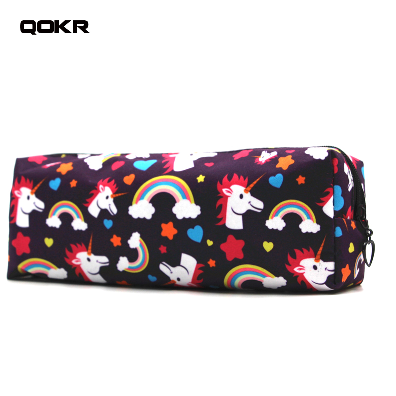 Unicorn Print Sunglass Case Pouch