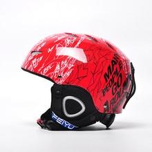 Skiing Helmet Autumn And Winter Adult Male Ladies snowboard Skiing helmet Equipment Snow Sports Saftly Security Helmets Skate