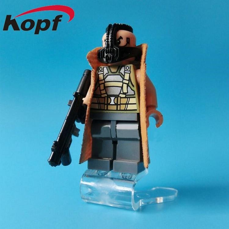 0215 Super Heroes Two Face Bane Nightmare Batman Indiana Jones Cosmic Boy Black Flash Building Blocks Toys for children