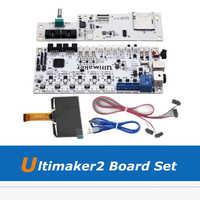 Ultimaker2 3D Stampante Parte FAI DA TE Pensione Completa Set Kit, UM2 V2.1.4 Pannello di Controllo + Schermo LCD + Scheda Madre