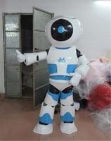 Robot Mascot Costume Alienware Halloween Party Fancy Cosplay Dress Adult Size