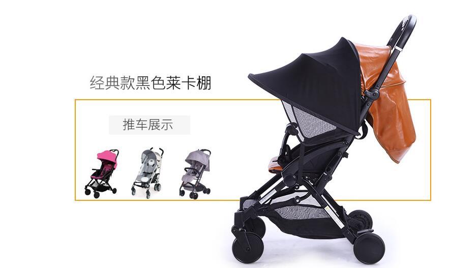 Saulėlydžio vaikiškų vežimėlių tentai Rag Shade Blocks 99% UV - Vaikų veikla ir įranga - Nuotrauka 3