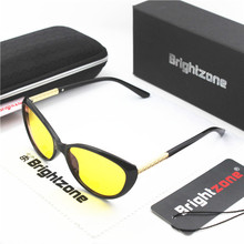 Brightzone Fashion Cat-eyes Blue Light Blocking Glasses Gamer And Computer Eyewear Filter Artificial For Deep Sleep Women