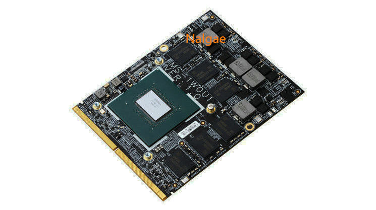 Top quality GTX 1060 GTX1060 6G N17E-G1-A1 MS-1WOU1 Video Card For MSI NVIDIA Geforce MS-16F4 16F3 GT60 GT70 GT72 Free DHL image