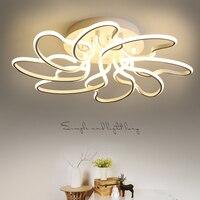 Aluminum Modern Led Ceiling Chandelier Lights For Living Room Bedroom Lamparas De Techo Acrylic Ceiling Chandelier