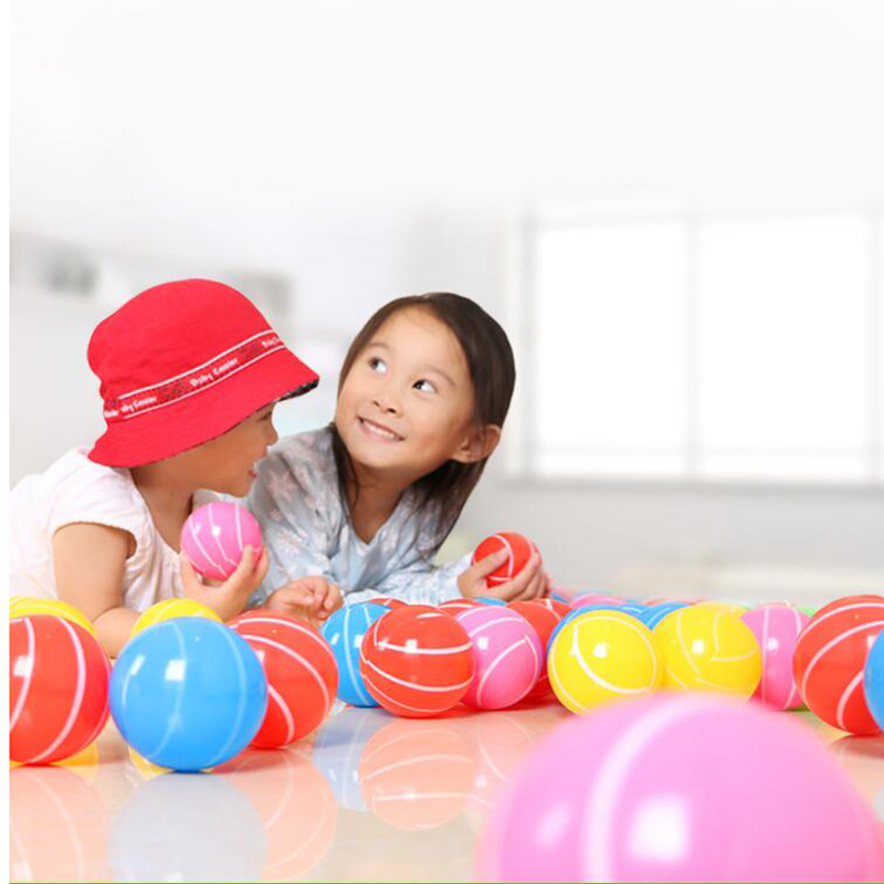 30 Pcs//lot Plastic 7Cm Ball Pits Baby Early Educational Toys Games Sports New