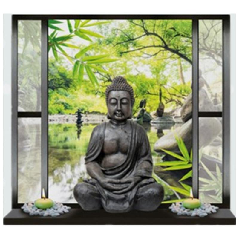 Buddha wallpaper reviews online shopping buddha for Buddha wall mural