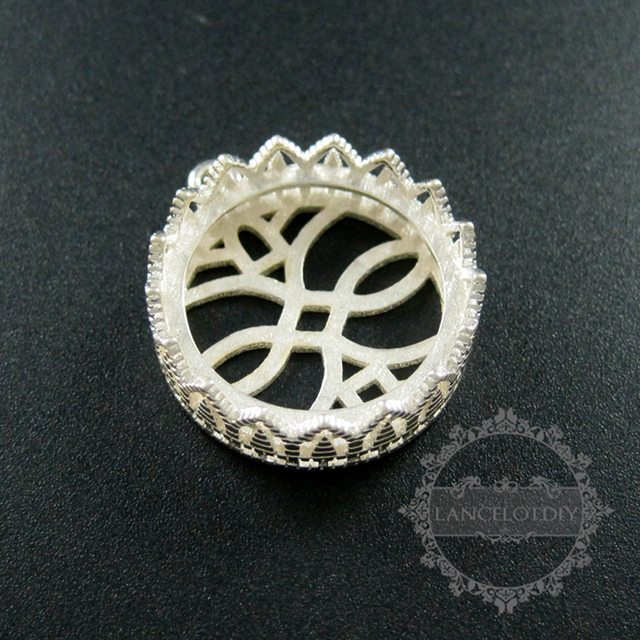 Aliexpress.com Buy 20mm setting round thick solid 925 sterling