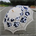 2016 Blce Lace Umbrella Embroidery Bridal Photo Props Wedding Gifts Wedding Umbrella Decorations Fan Sun Umbrella Free Shipping
