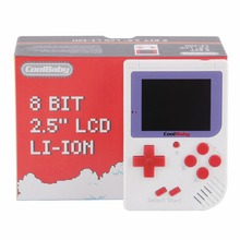Coolbaby RS-6 portable retro game 8 bit console Kids Mini Handheld Game Players LCD Color Colour Built-in 129 Video Games Gift