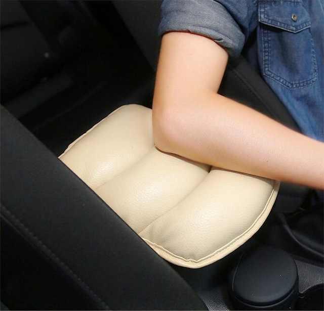 Центральная консоль автомобильный чехол для подлокотников коврик для BMW Mini Cooper S VW Polo Passat B6 B7 B8 Golf 4 5 6 7 Touareg Tiguan Bora 2017