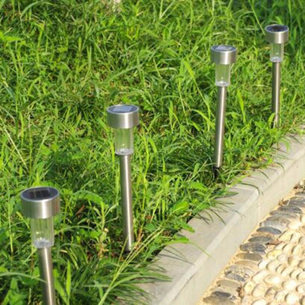 Portable LED Light Solar Spike Spot Light Spotlight Landscape Garden Yard Path Lawn Outdoor Grounding Sun Light Solar Lamps