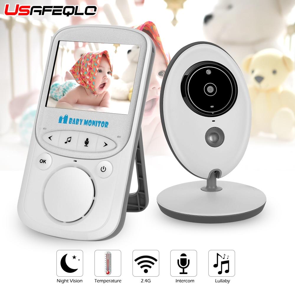 Draadloze LCD Audio Video Babyfoon VB605 Radio Nanny Muziek Intercom IR 24 h Draagbare Camera Baby Walkie Talkie babysitter-in Baby Monitor van Veiligheid en bescherming op AliExpress - 11.11_Dubbel 11Vrijgezellendag 1