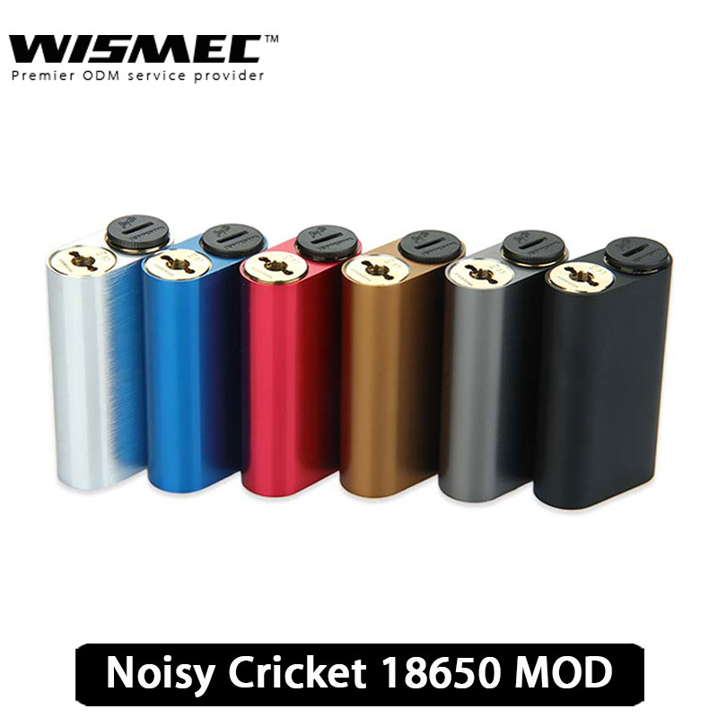 100 Original WISMEC Noisy Cricket MOD Suit Two 18650 Batteries with Wismec Hybrid Adapter font b