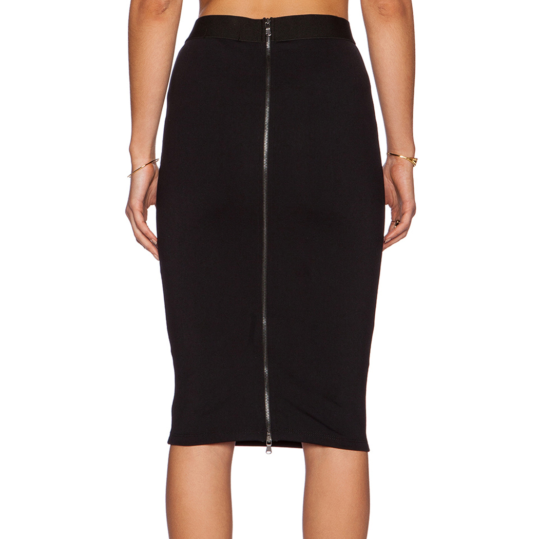 fanala skirts womens summer 2017 ol slim fitted high waist skirt knee length straight pencil. Black Bedroom Furniture Sets. Home Design Ideas