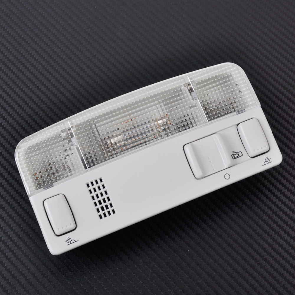 CITALL New Grey Interior Dome Reading Light Lamp for VW Golf Jetta MK4 Bora Passat B5 ITD 947 105 jeazea glove box light storage compartment lamp 1j0947301 1j0 947 301 for vw jetta golf bora octavia 2000 2001 2002 2003 2004