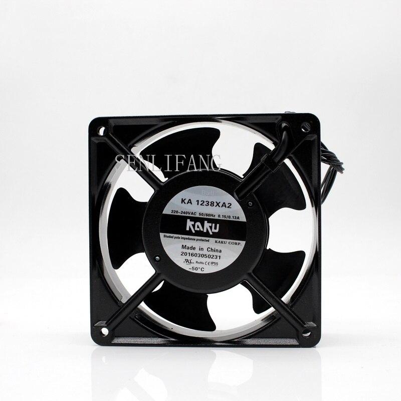 Free Shipping KA1238XA2 220V 0.15A/0.13A 120*120*38MM Ball Bearing Large Air Volume Fan