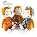 12 дюймов Симпатичные Любопытный Джордж Плюшевые Игрушки Мультфильм Животных Обезьяна Кукла Подарок На День Рождения Для Детей