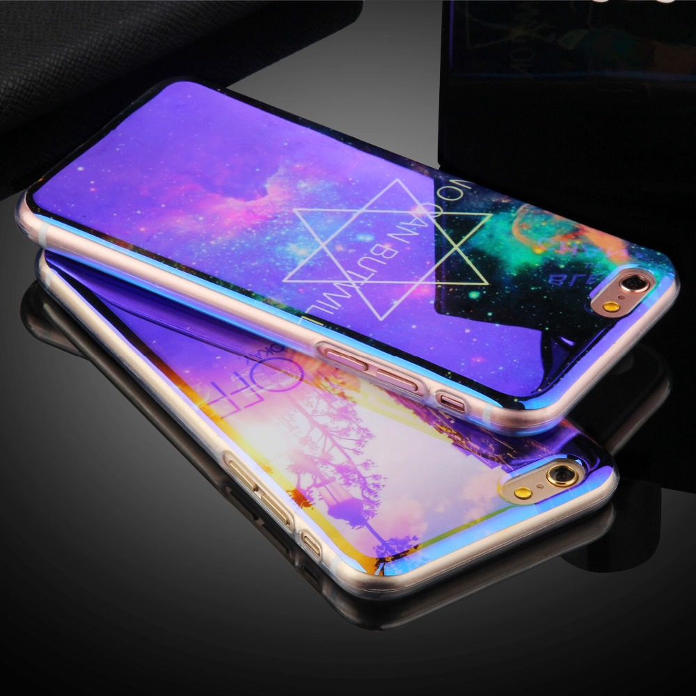 New <font><b>Arrival</b></font> Cell Phone Cases For Apple iPhone 5 5S SE 6 6S 6Plus 6s plus 7 7Plus <font><b>Blu-ray</b></font> Diamond Soft TPU Phone Protection Shell