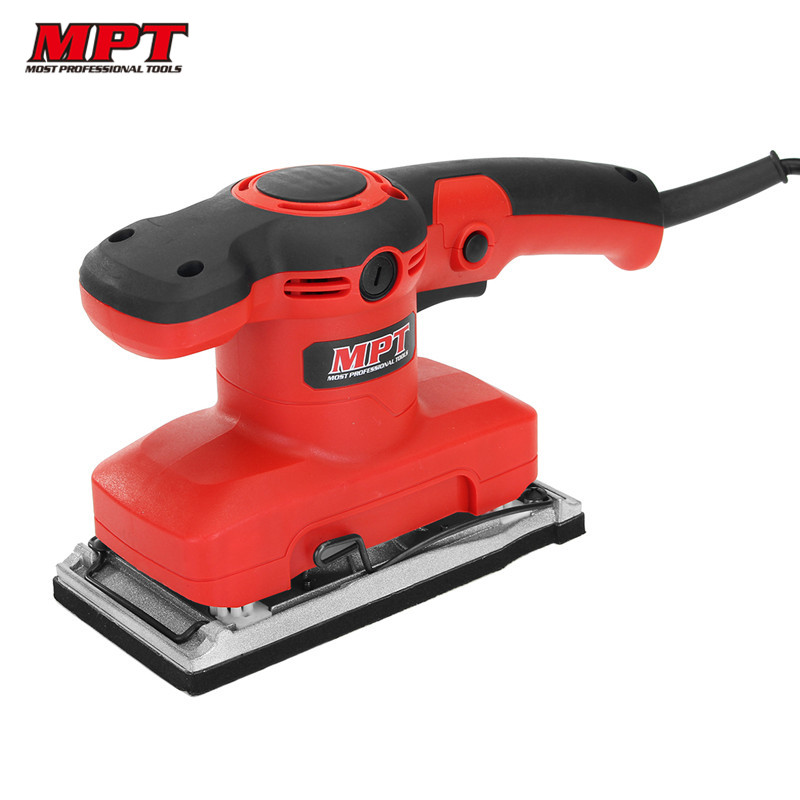 MPT MFS3203 320W 14000rpm Finish Sander Grinder Sanding Machine Power Tool for Polishing Grinding Wood Woodworking Tools free shipping reciprocating type pneumatic sanding tool air polishing machine wind grinding tool sander machine 3mm move track