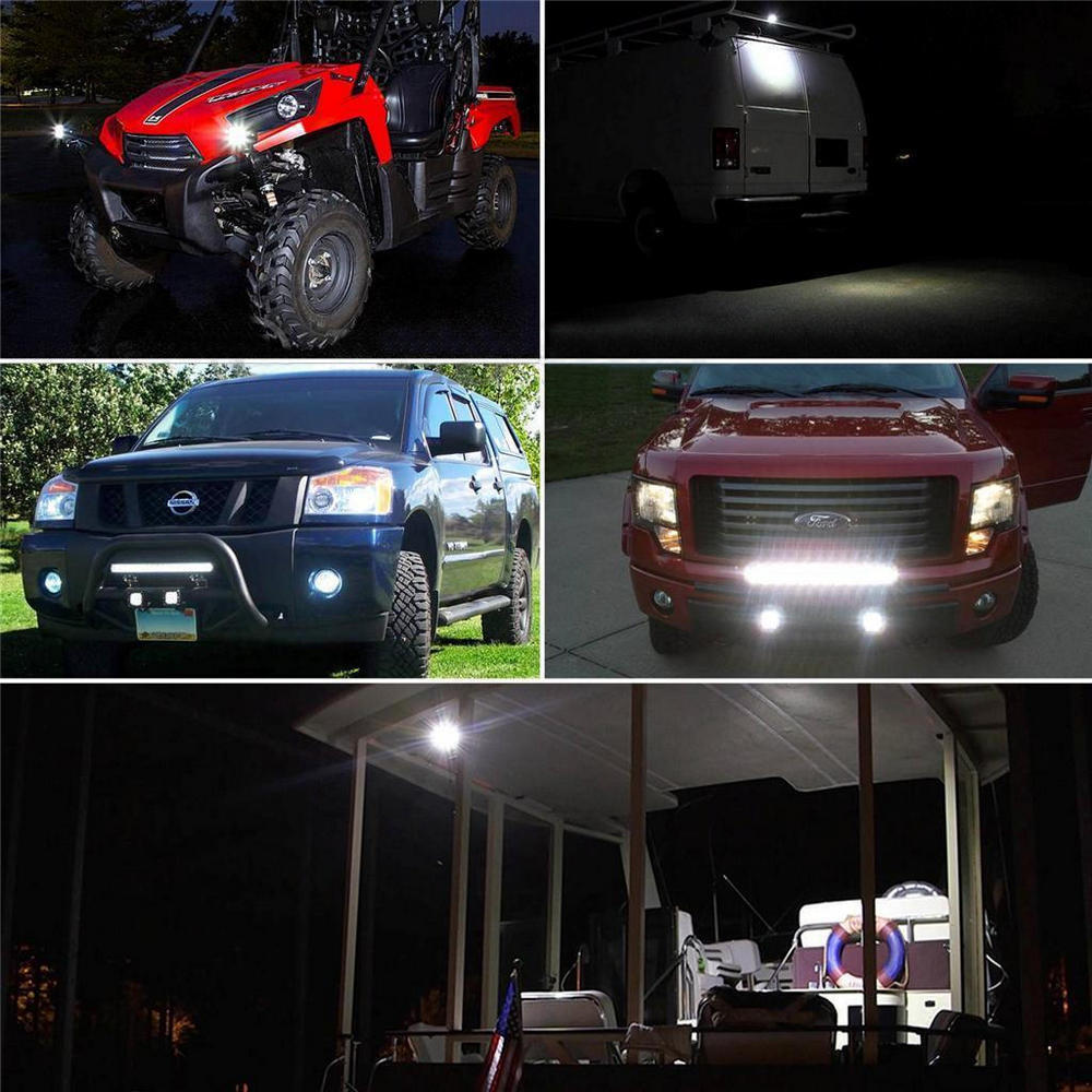 Hard-Working Kaigelin 12w 4leds Car Led Spotlight Mini Car Work Light Bar For Suv Truck Boating Hunting Outdoor Lighting Led Spot Lamp Fashionable Style; In