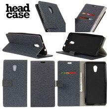 Head case для lenovo p2 стенд бумажник кожа флип case cover для головы case для lenovo р2 флип золото ткань зерна кожаный бумажник