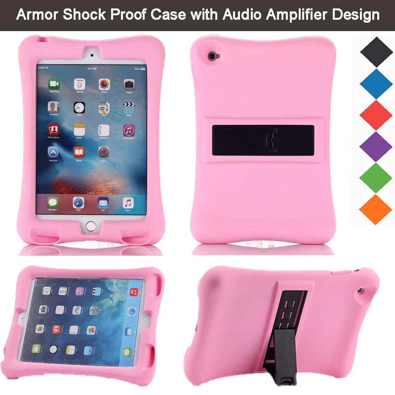 New Arrival Kids Silicone Cover for Apple iPad Mini 4 7.9 ...