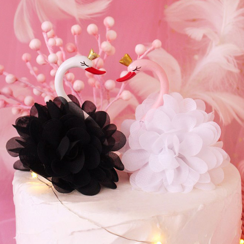 Crown Flamingo Cake Topper Resin Pink Swan Dolls Cupcake Topper For Wedding Birthday Flamingo Party Cake Decorations Baby ShowerCrown Flamingo Cake Topper Resin Pink Swan Dolls Cupcake Topper For Wedding Birthday Flamingo Party Cake Decorations Baby Shower