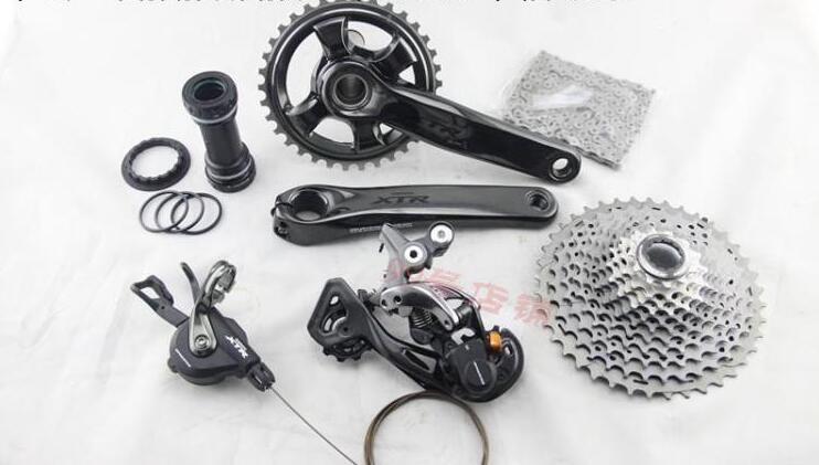 Shimano Deore XTR M9000 M9020 список групп 170/175 мм 32 т 34 Т Crankset горный велосипед список групп 1x11 Speed 40 т M9000 задний переключатель