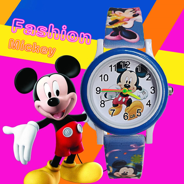 Exclusive earliest release cool mickey watch children girls boys clcok fashion r