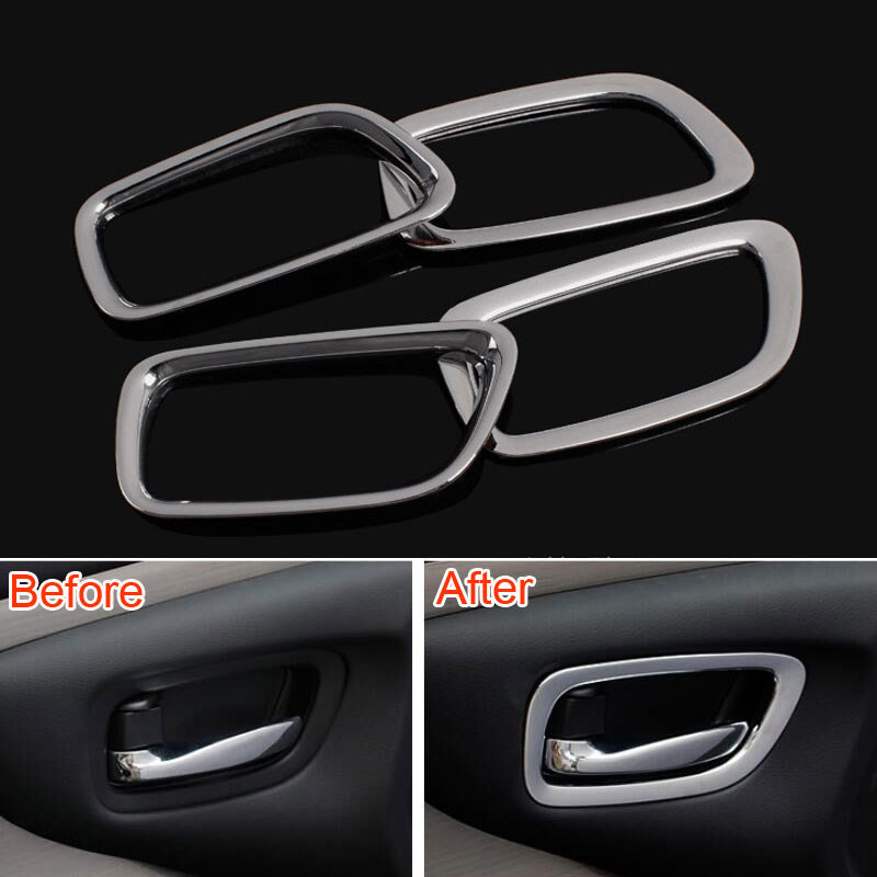 Auto Exterior Door Handle Cover Trim Strip 4pcs For Toyota Camry
